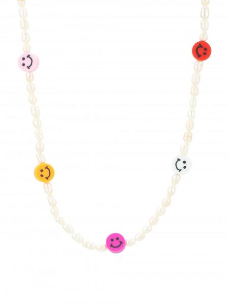 Perlenkette Mit Smiley