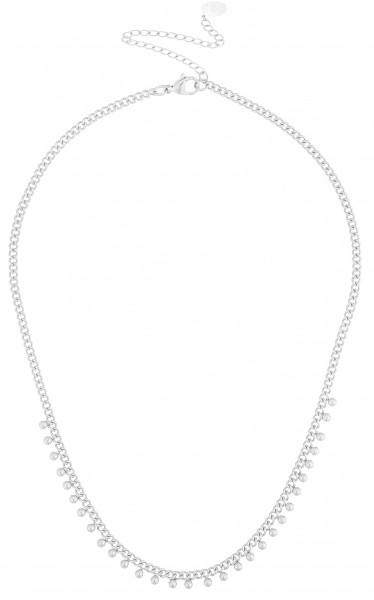 Edelstahlkette Minikugeln Silber