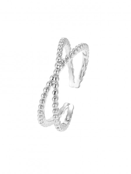 Offener Ring X-Form
