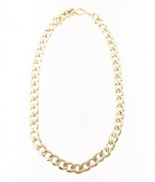 LINKED NECKLACE IN GOLD