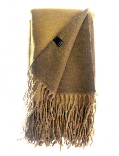 Wendeschal Aus Wolle In Camel/Khaki