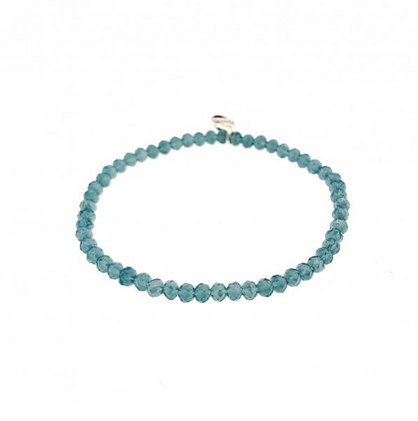 Armband Aus Glasperlen In Türkis