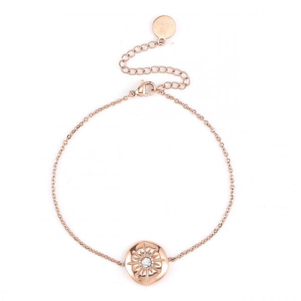 Edelstahl Armband In Rose