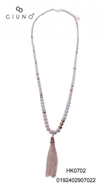 Perlenkette mit Tassel