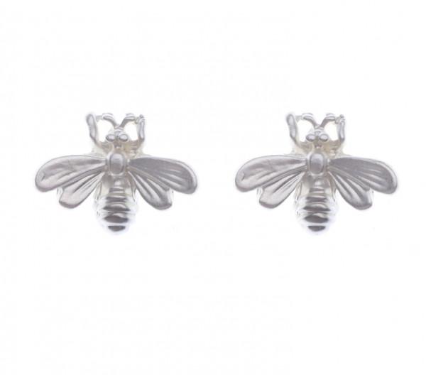 Ohrstecker Biene silber