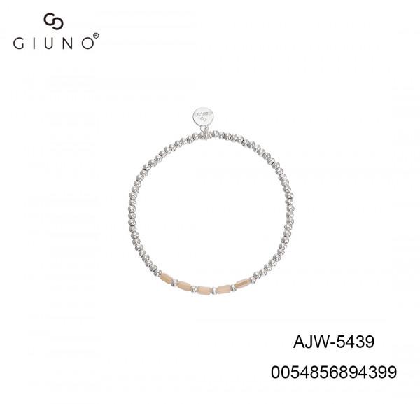 Metallarmband Silber Mit Kristall Weiss