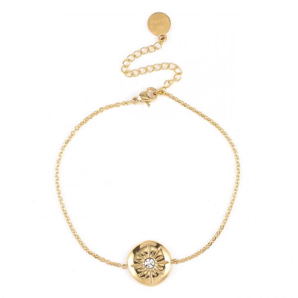 Edelstahl Armband In Gold