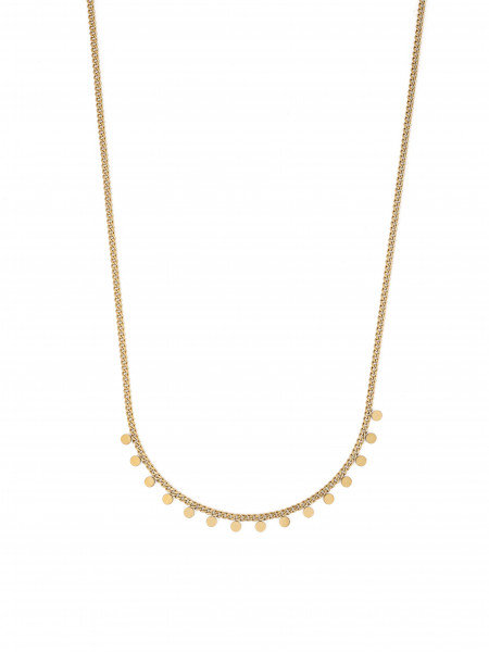 STAINLESS STEEL NECKLACE IN GOLD