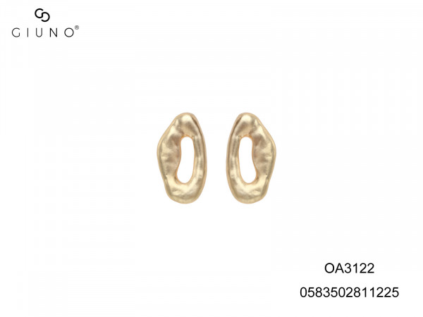 Ohrstecker Aus Metall Gold