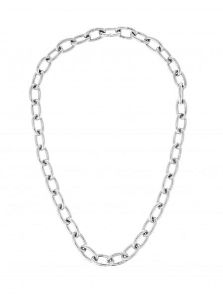 Gliederkette Mittelgross Aus Edelstahl In Silber