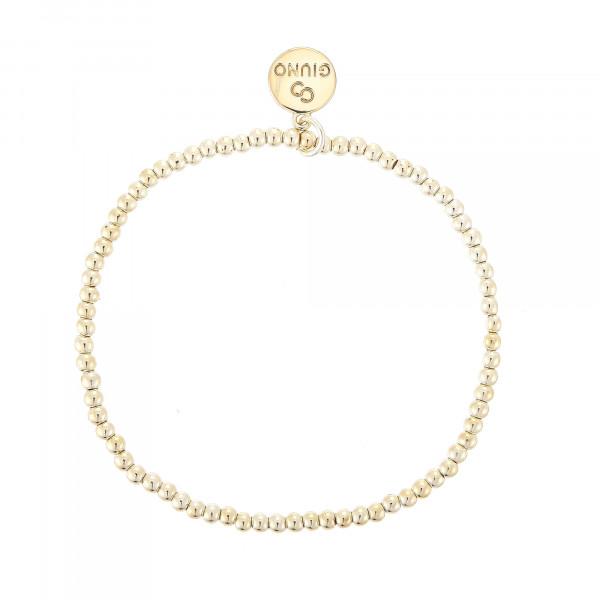 Kleiner Perlenarmband In Gold