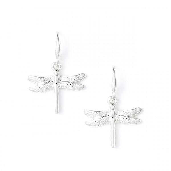 Libellen Ohrringe Silber