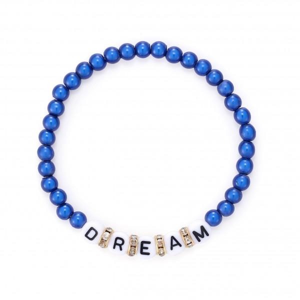 Dream Armband Mit Gummizug In Blau