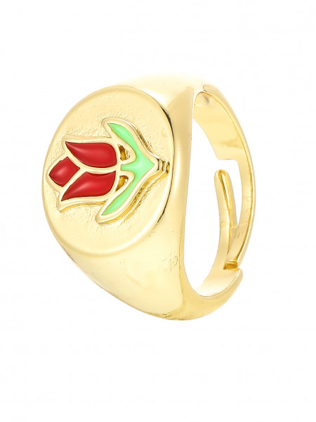 Verstellbarer Ring Gold
