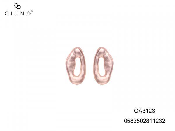 Ohrstecker Metall Rosé Offener Kreis