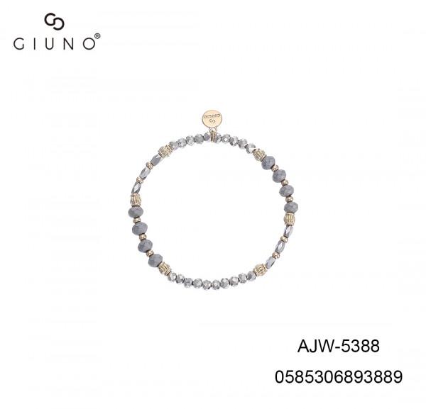 Kristall Armband Silber Rose