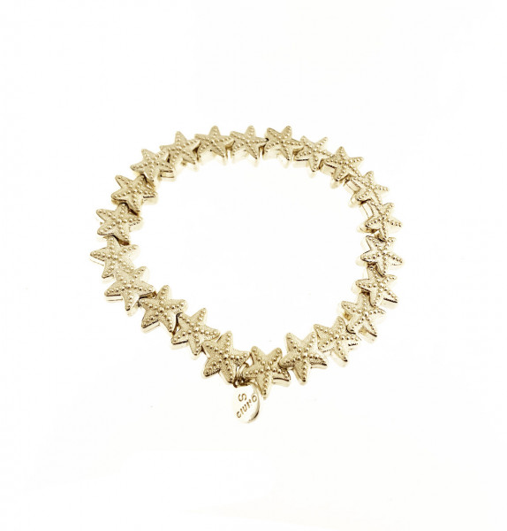 Seestern Armband Aus Metall In Gold
