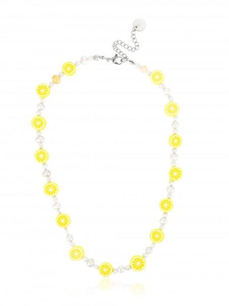 Verspielte Perlenkette