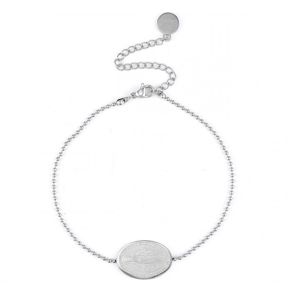 Edelstahl Armband In Silber