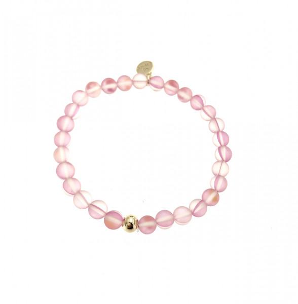 Armband Aus Glasperlen In Rosa