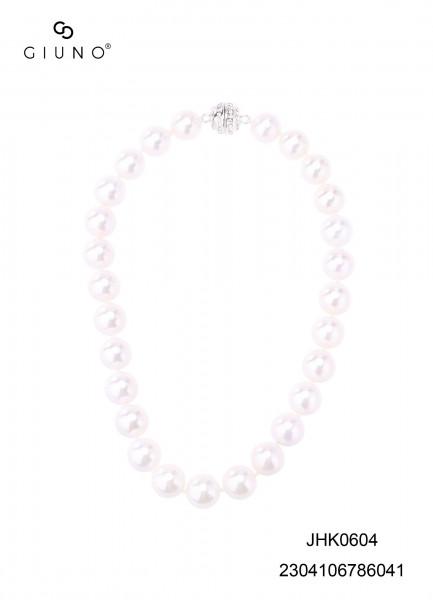 Perlenkette Weiss Grosse Perlen