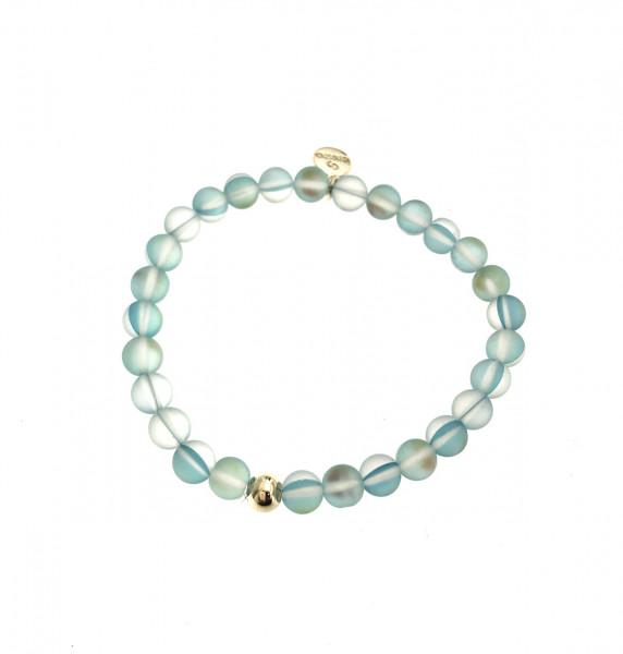 Armband Aus Glasperlen In Blau