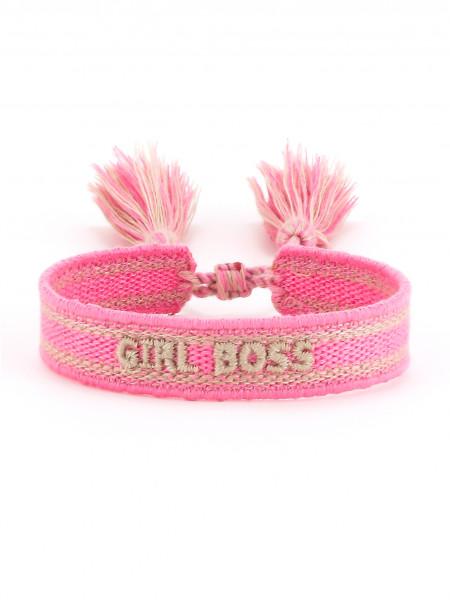 "Stoffarmband ""Girl Boss"""