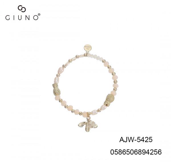 Kristall Armband Weiss Gold