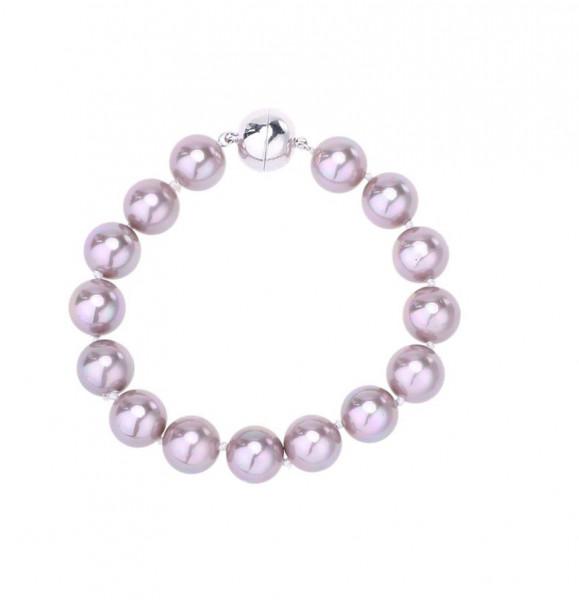 Perlenarmband Flieder Kleine Perle