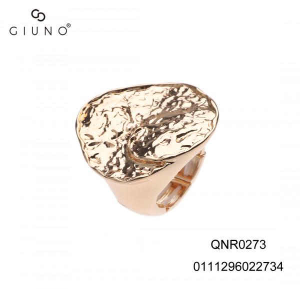 Elastischer Metallring In Gold